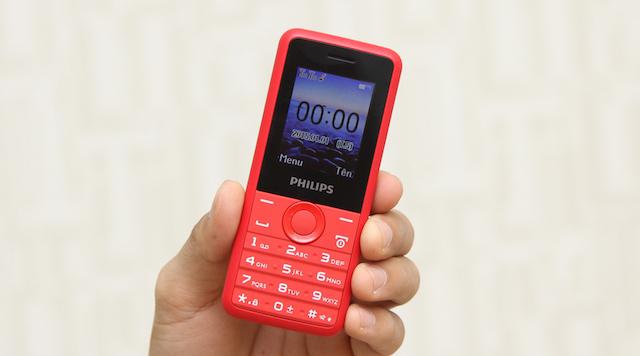 Máy thiết kế vừa vặn để bạn cầm nắm thoải mái nhất, trọng lượng nhẹ 72.7 g