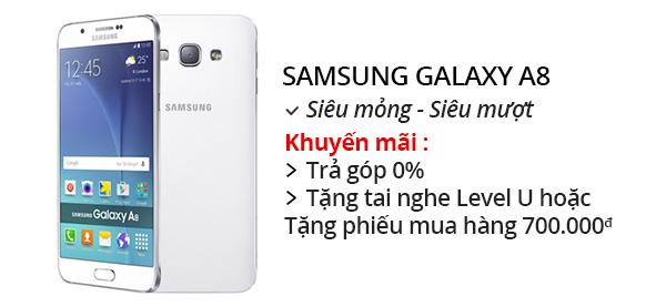 Điện thoại di động Samsung Galaxy A8 - A800VE