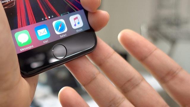 Nút home lực tích hợp trên điện thoại iPhone 7