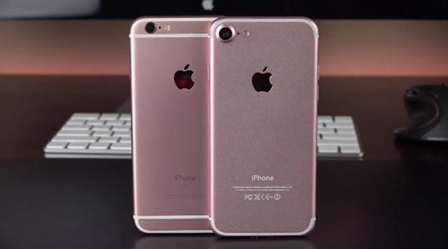 Thiết kế khá tương đồng với iPhone 6s