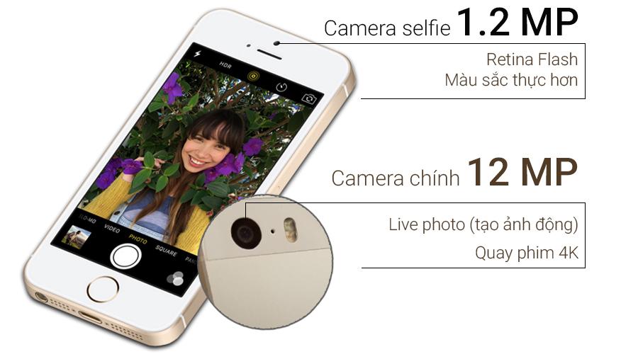 Iphone 5 se 16g - quốc tế - trắng loại c - 96 - 3