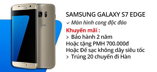 Điện thoại di động Samsung Galaxy S7 Edge