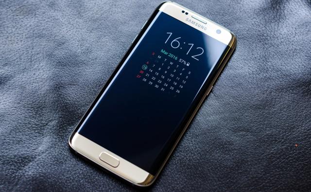 Thiết kế sang trọng của điện thoại Samsung Galaxy S7 Edge