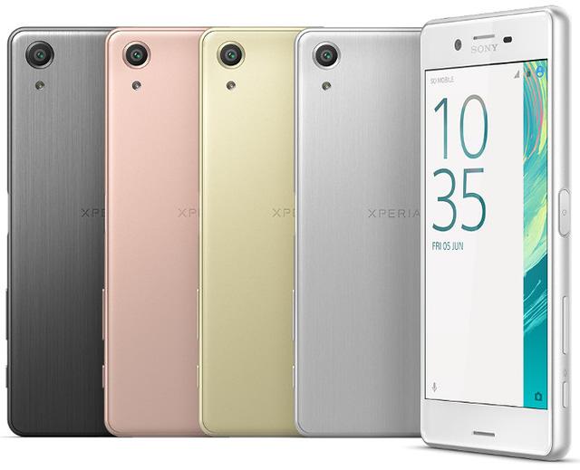Xperia X mang triết lý thiết kế mới của Sony