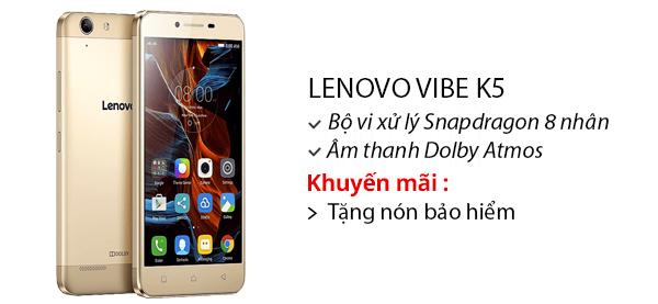 Điện thoại di động Lenovo Vibe K5