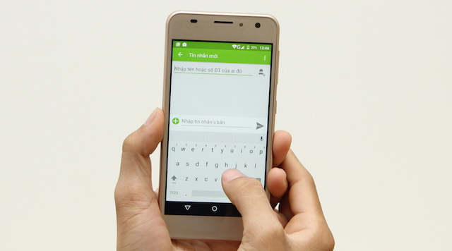Không quá to hay nhỏ, màn hình 5 inch vừa vặn cho bạn sử dụng