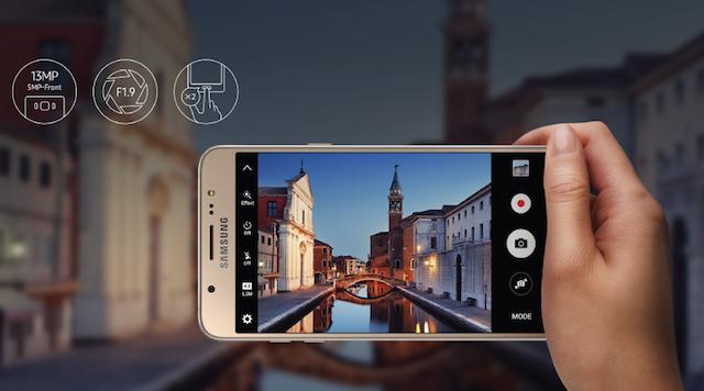 Camera điện thoại Samsung Galaxy J7 2016