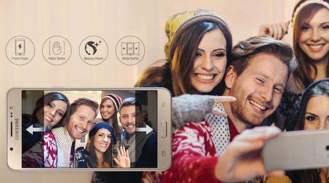 Camera phụ 5 MP với chế độ nhận diện khuôn mặt để làm mịn da, hay nhận diện bàn tay để chụp ảnh khá tiện lợi