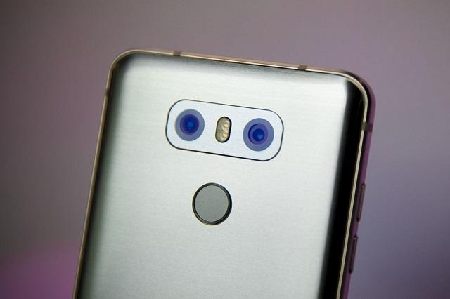 LG G6 - Camera không lồi