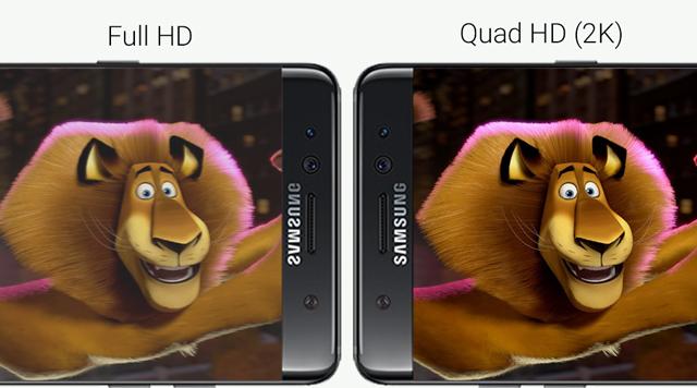 Độ phân giải Quad HD giúp nâng cao độ nét, mang tới không gian làm việc hay giải trí thích mắt.