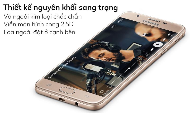 Samsung Galaxy J7 Prime - Thiết kế sang trọng