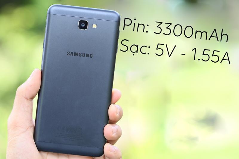 Samsung Galaxy J7 Prime - Dung lượng pin lớn