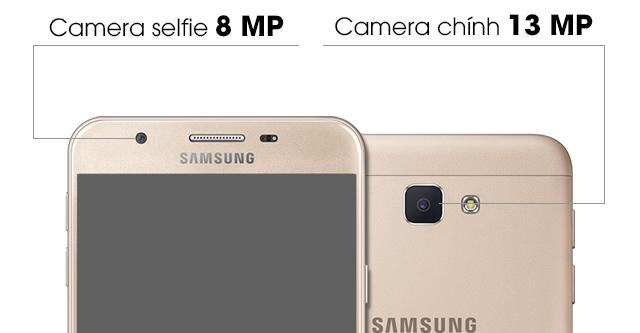 Samsung Galaxy J7 Prime - Camera selfie khẩu độ lớn