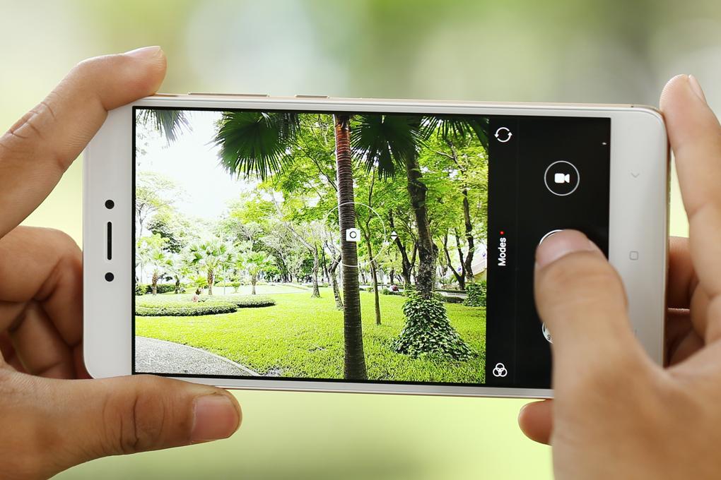 Giao diện camera điện thoại Xiaomi Redmi Note 4