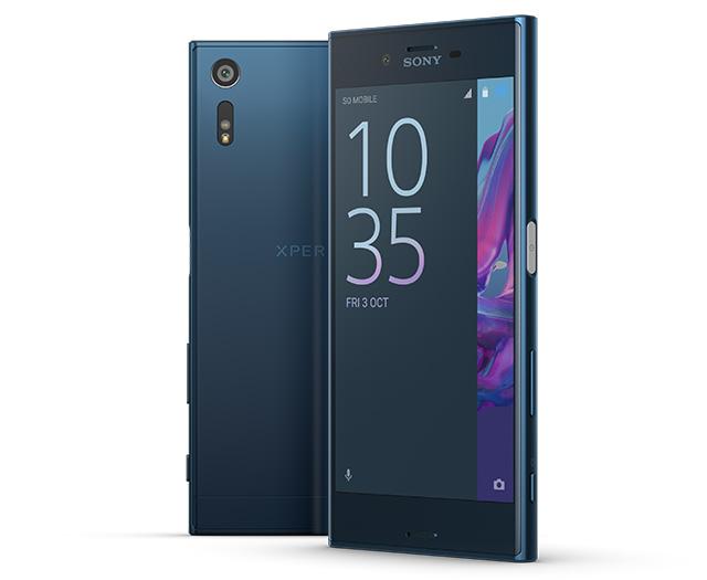 Thiết kế điện thoại Sony Xperia XZ