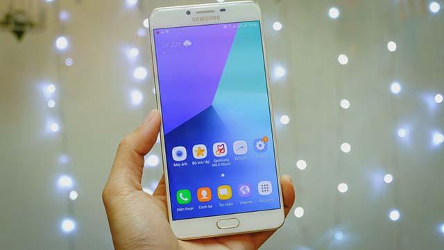 Thiết kế của điện thoại Samsung Galaxy C9 Pro chính hãng