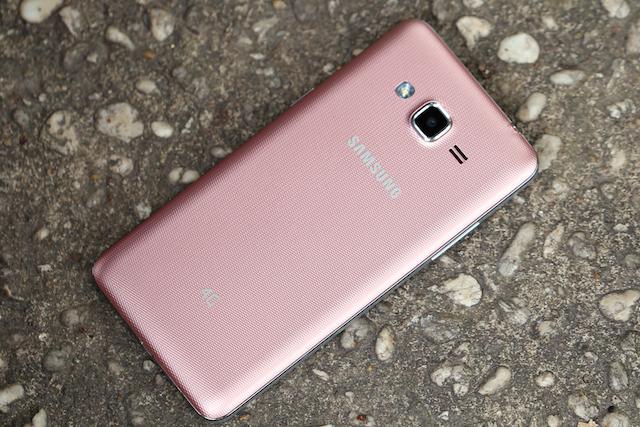 Thiết kế của điện thoại Samsung Galaxy J2 Prime