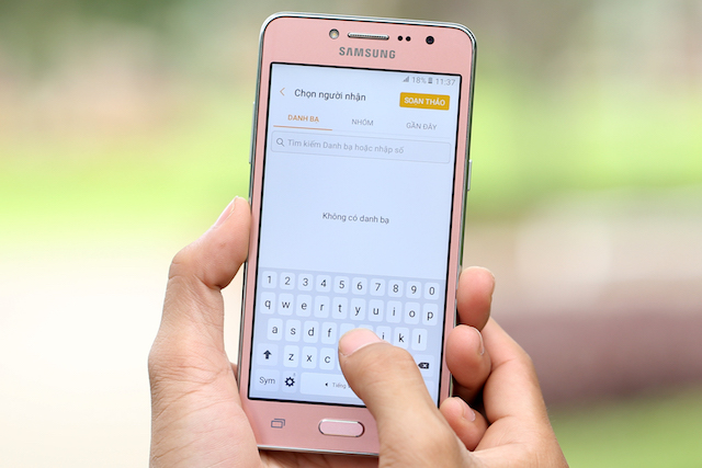 Đánh giá điện thoại Samsung Galaxy J2 Prime