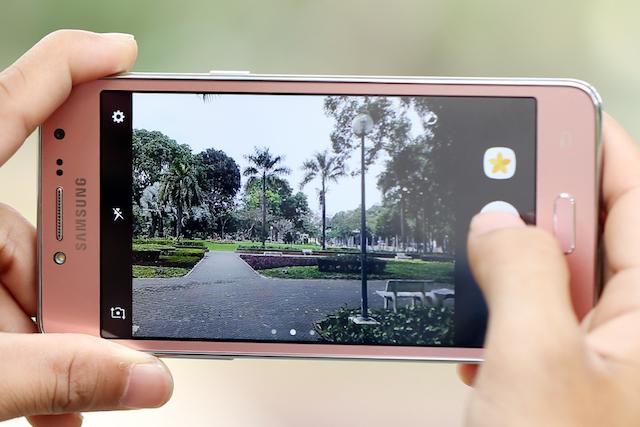Camera trên điện thoại Samsung Galaxy J2 Prime