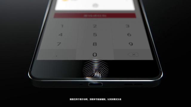 Nokia 6 - Trang bị cảm biến vân tay tại phím home