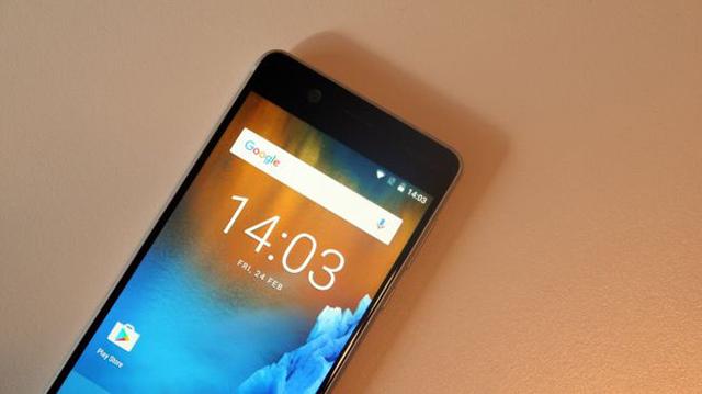 Giao diện Android trên điện thoại Nokia 5