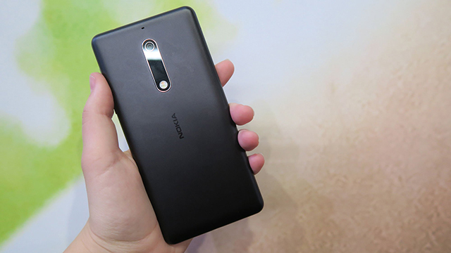 Camera sau trên điện thoại Nokia 5