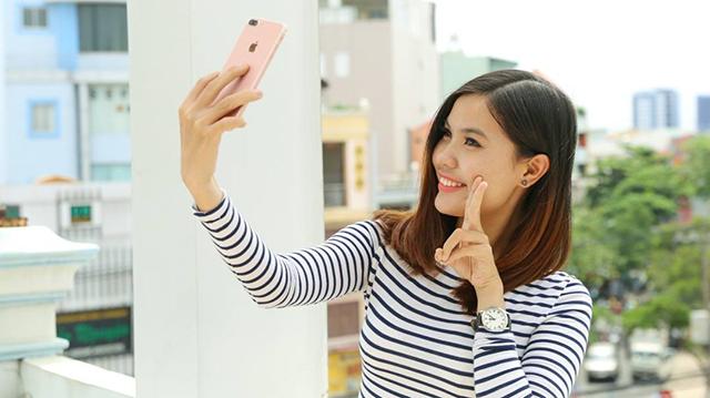 Camera selfie 7 MP