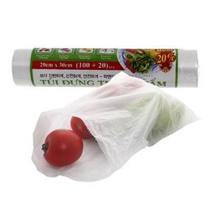 Túi đựng thực phẩm Laspalm 20cm x 30cm 120 túi/cuộn