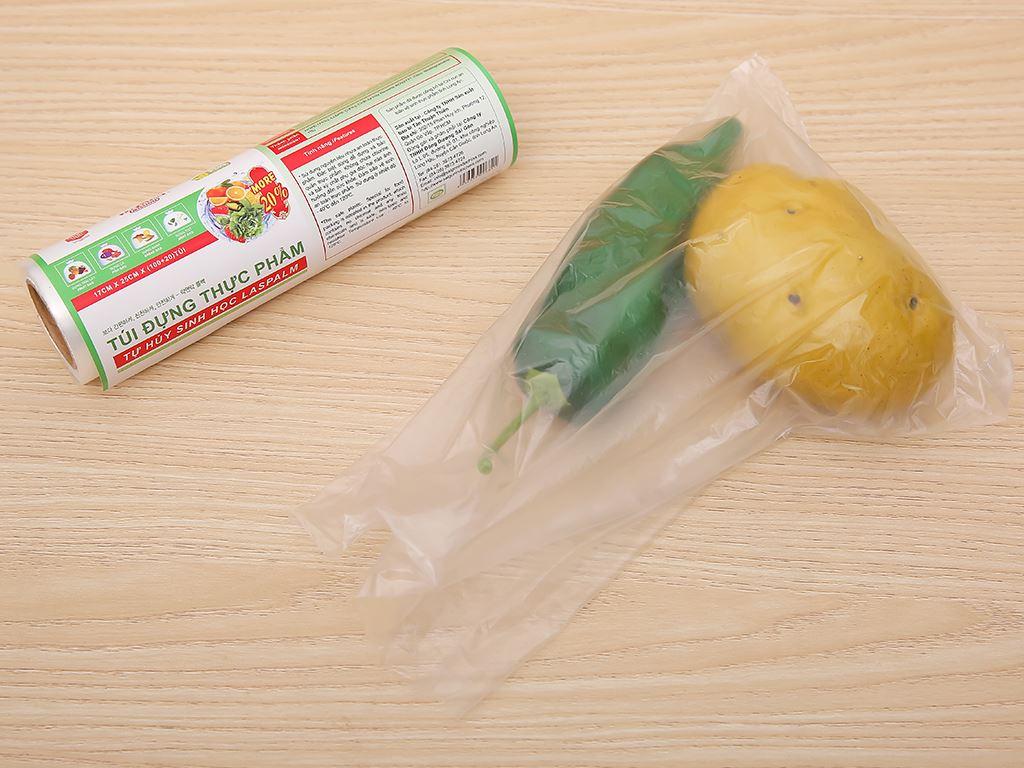Túi đựng thực phẩm Las Palms 17 x 25cm (120 túi) 4