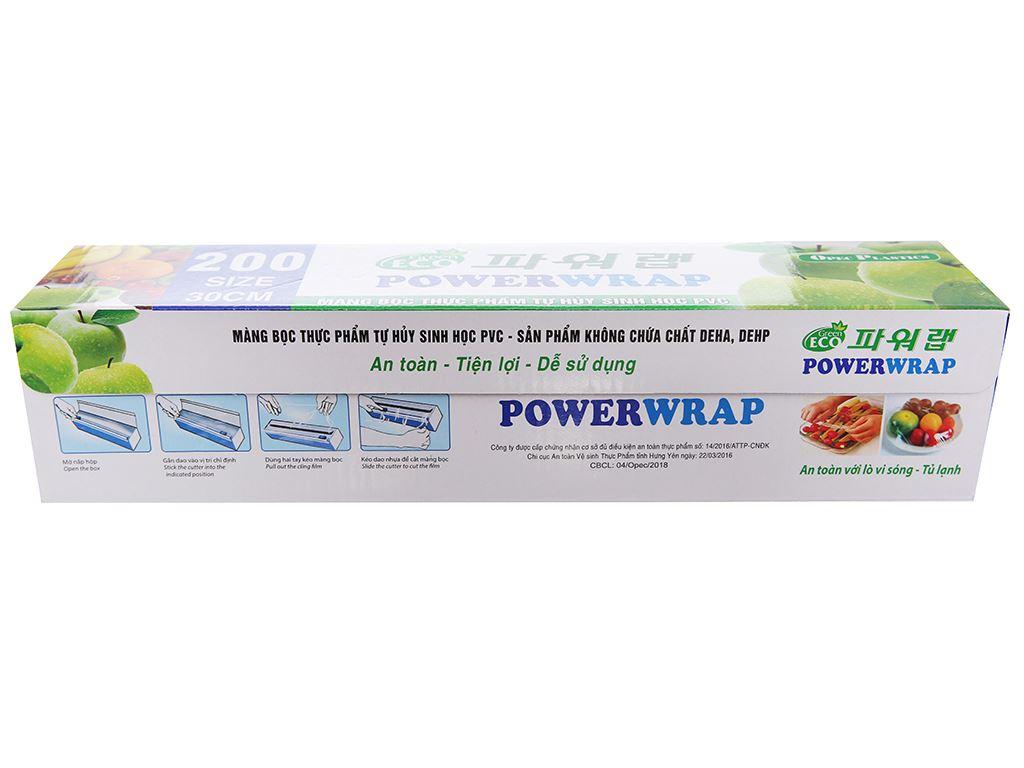 Màng bọc thực phẩm PVC Opec 30cm x 100m 1