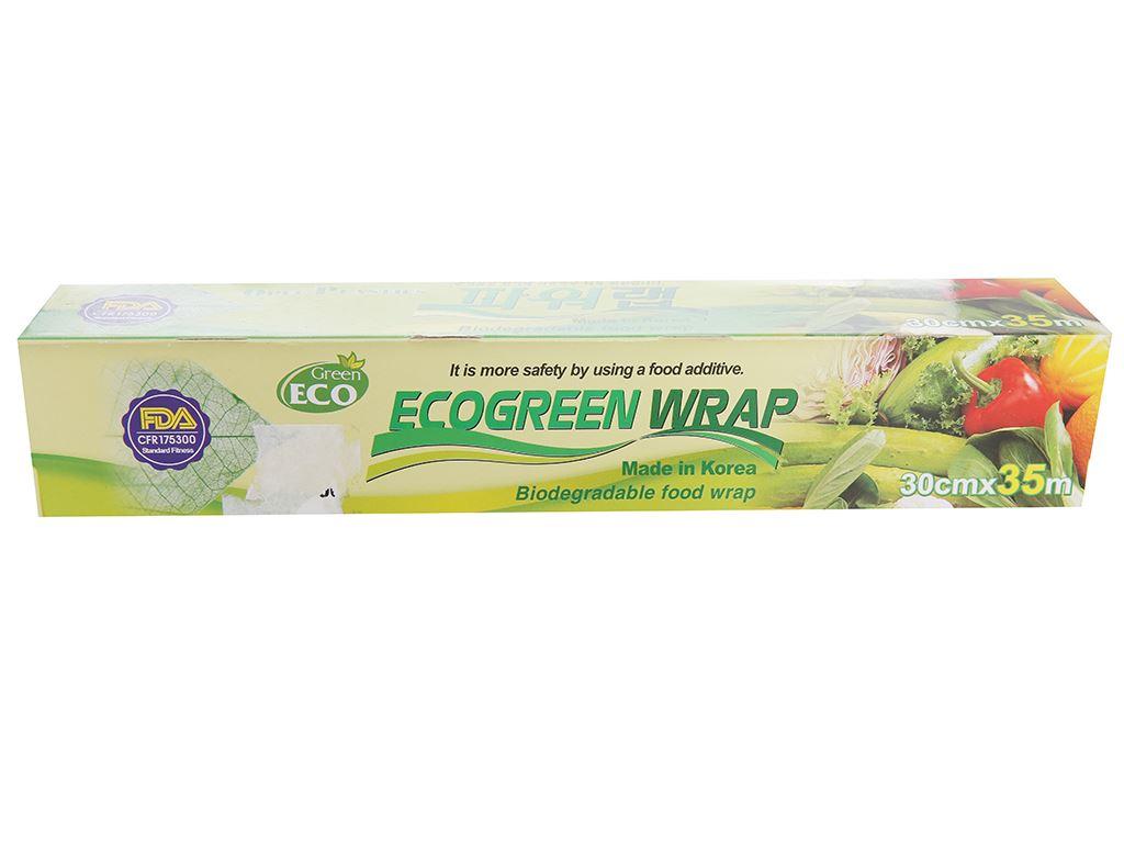 Màng bọc thực phẩm PVC Green Eco 30cm x 35m 1