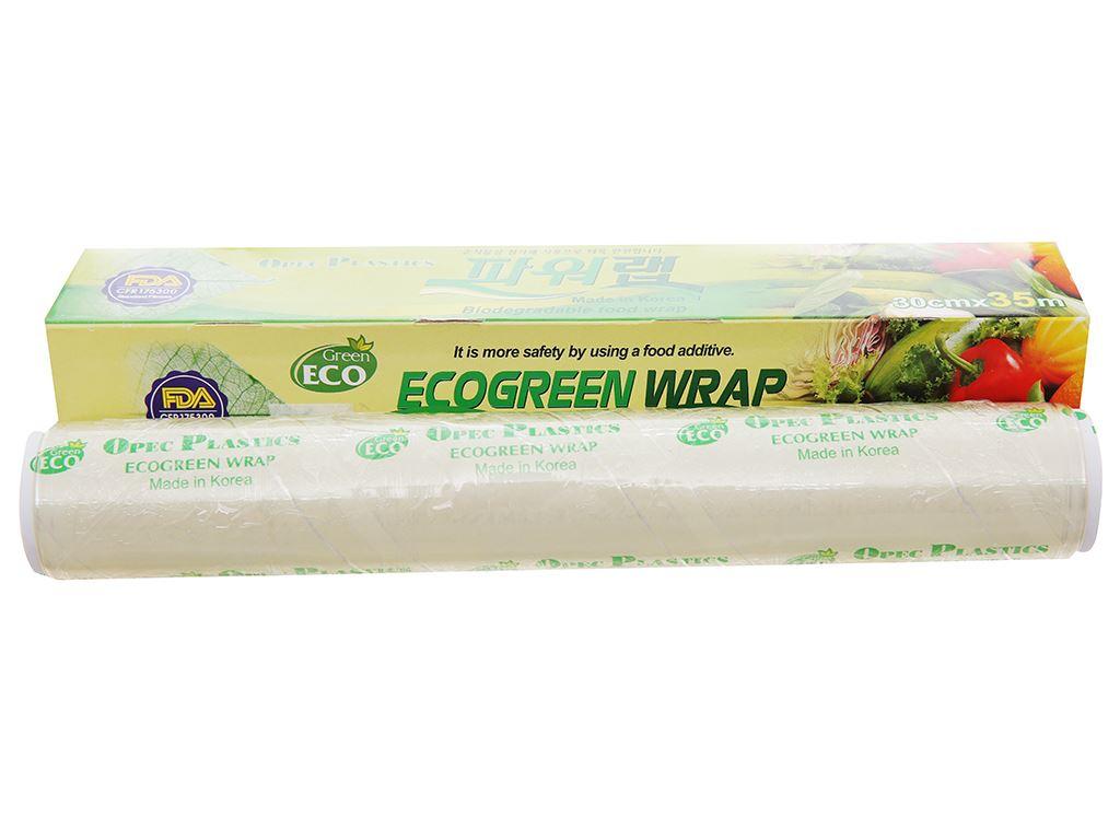 Màng bọc thực phẩm PVC Green Eco 30cm x 35m 3