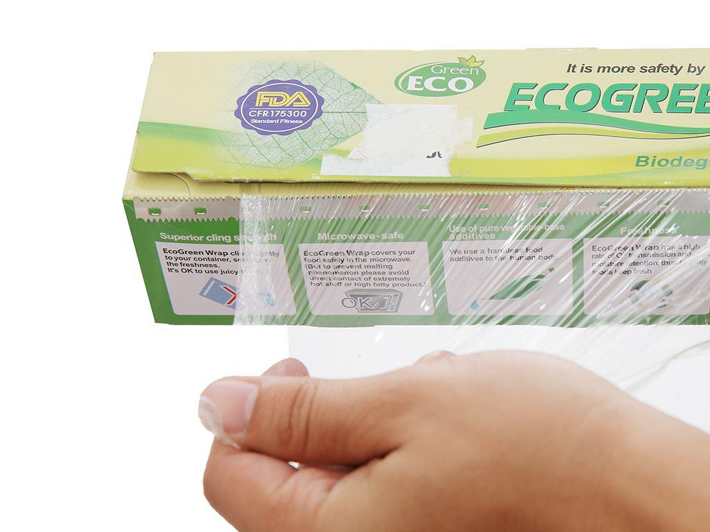 Màng bọc thực phẩm PVC Green Eco 30cm x 35m 4