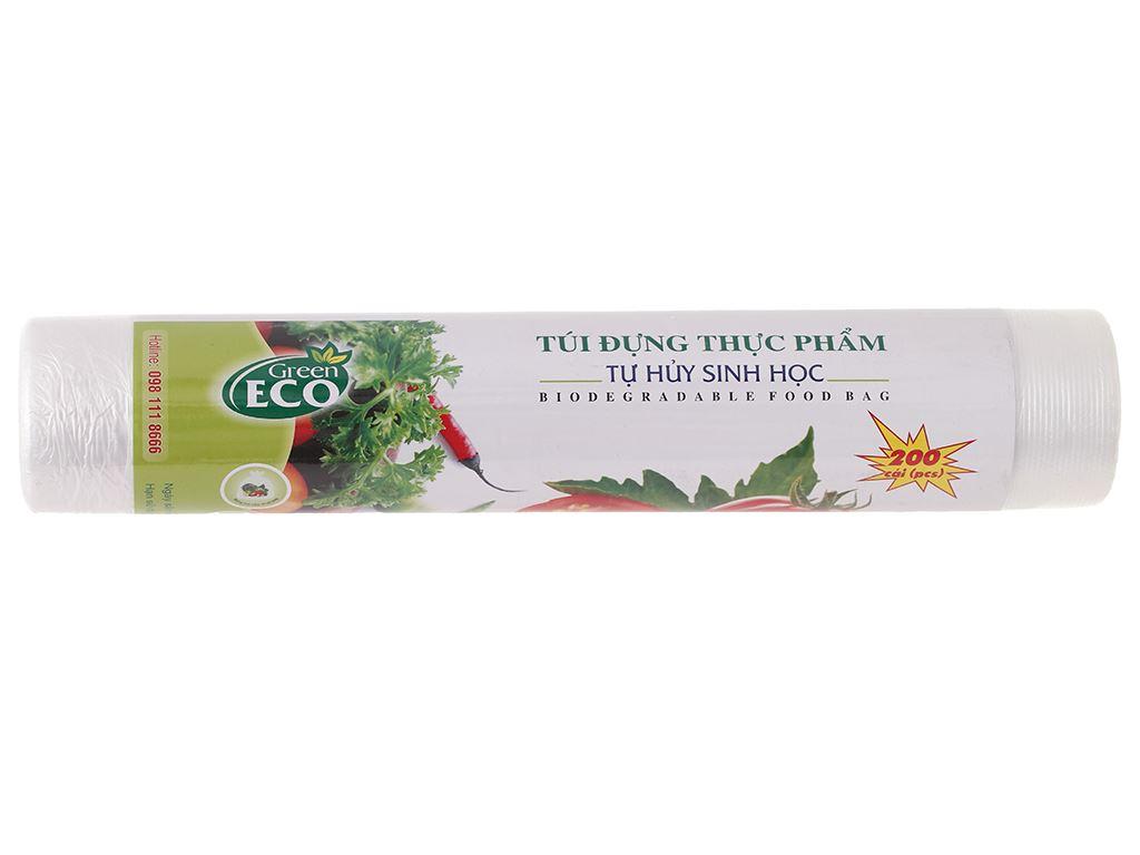 Túi đựng thực phẩm tự huỷ sinh học Green Eco 30 x 40cm (200 túi) 1