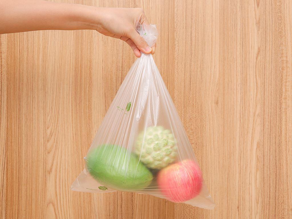 Túi đựng thực phẩm tự huỷ sinh học Green Eco 30 x 40cm (200 túi) 5