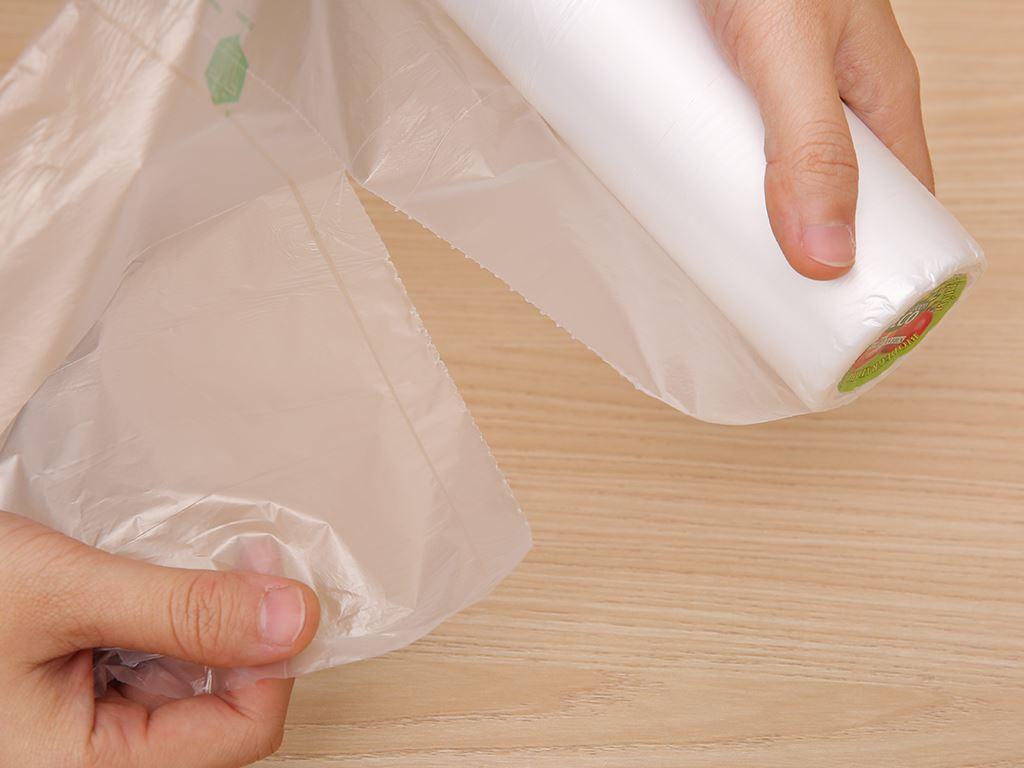 Túi đựng thực phẩm tự huỷ sinh học Green Eco 25 x 35cm (200 túi) 3