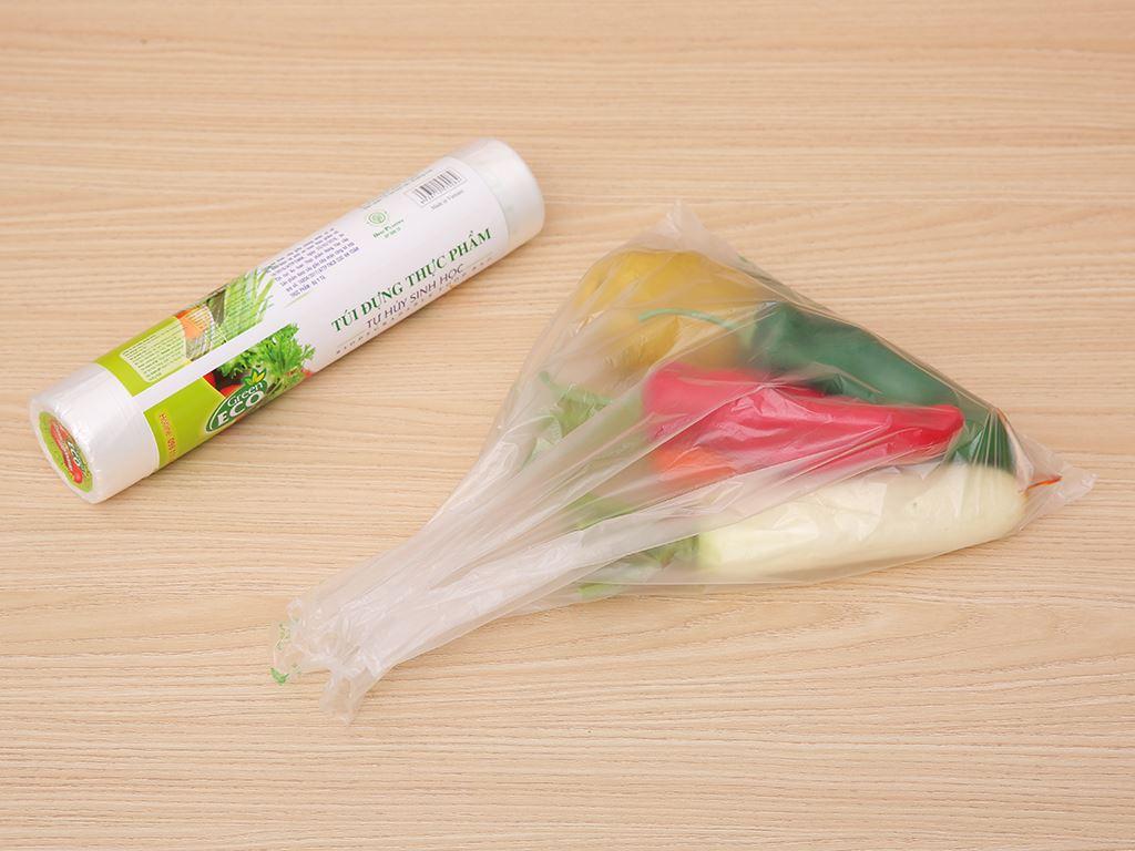 Túi đựng thực phẩm tự huỷ sinh học Green Eco 25 x 35cm (200 túi) 4