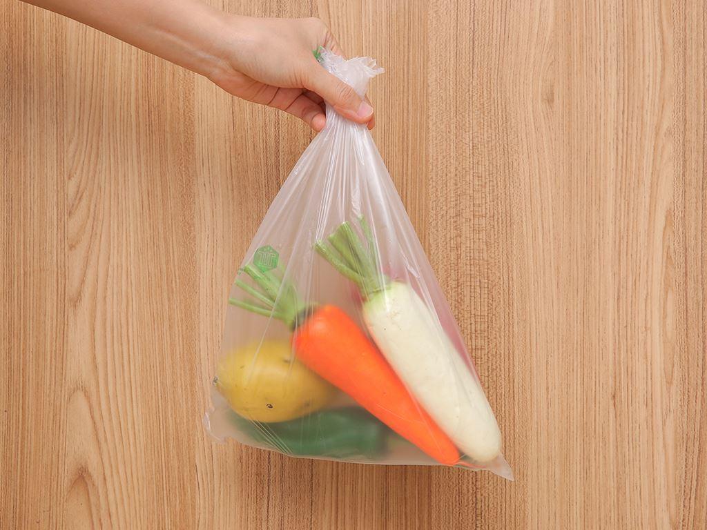 Túi đựng thực phẩm tự huỷ sinh học Green Eco 25 x 35cm (200 túi) 5