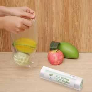 Túi đựng thực phẩm tự huỷ sinh học Green Eco 17 x 28cm (200 túi)