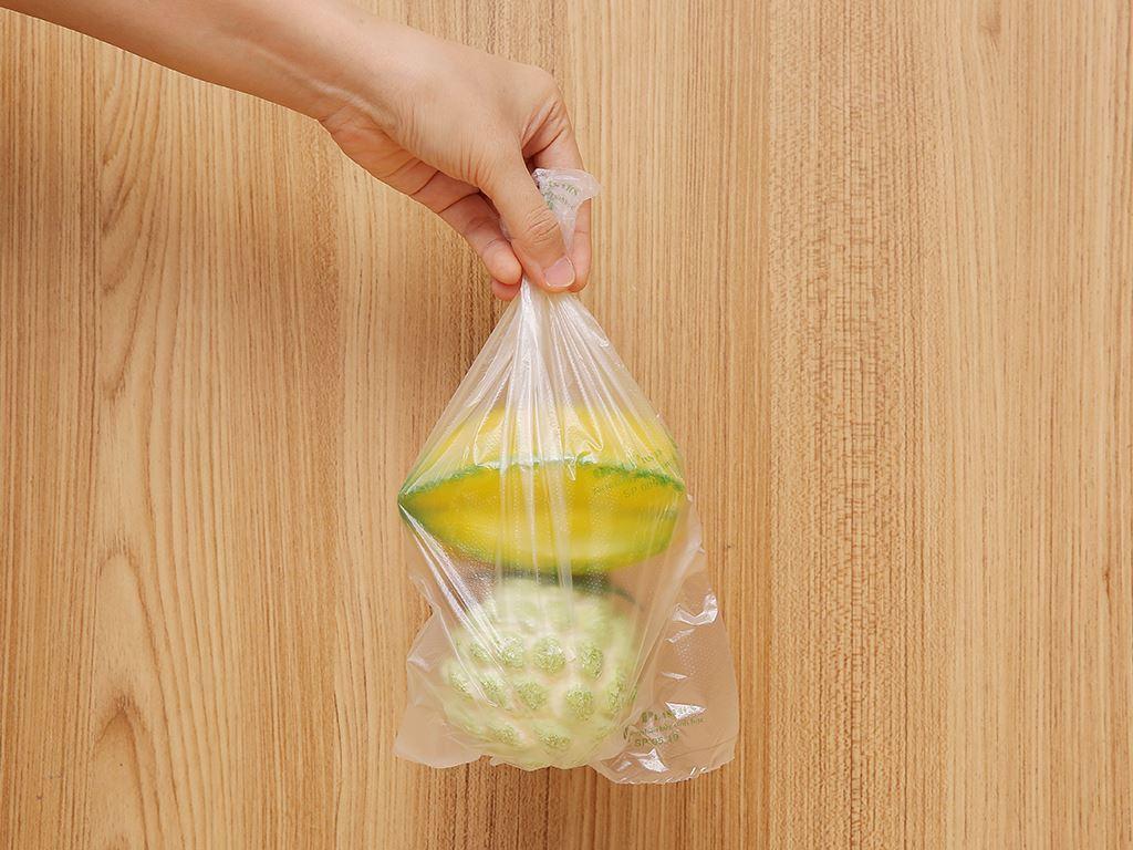 Túi đựng thực phẩm tự huỷ sinh học Green Eco 17 x 28cm (200 túi) 5