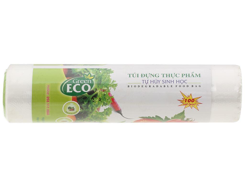 Túi đựng thực phẩm Green Eco 17 x 28cm (100 túi) 1
