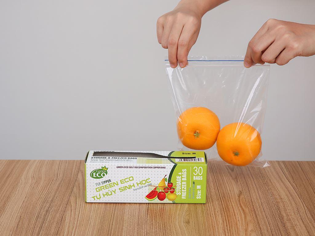 Túi zipper tự hủy sinh học Green Eco 18 x 21cm (30 túi) 7
