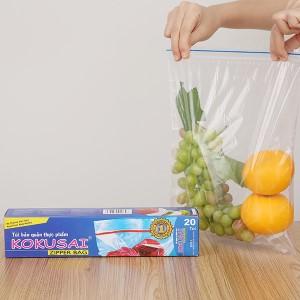 Túi zipper bảo quản thực phẩm PE Kokusai 26.5 x 31cm (20 túi)