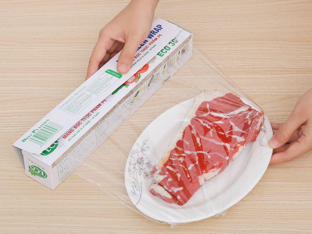Màng bọc thực phẩm PE Green Eco 30cm x 30m 3