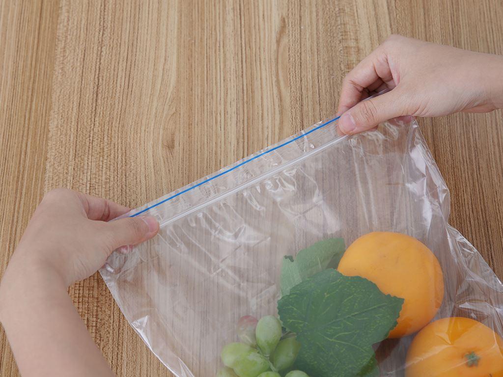 Túi zipper tự hủy sinh học Green Eco 26.5 x 31cm (20 túi) 5