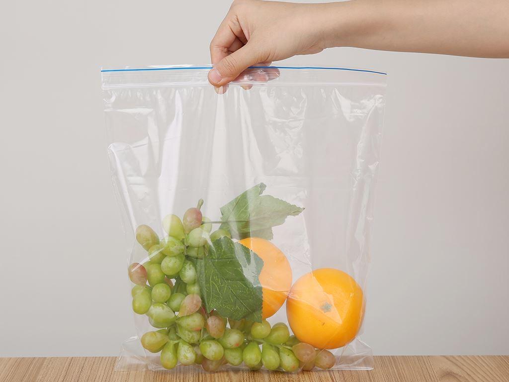 Túi zipper tự hủy sinh học Green Eco 26.5 x 31cm (20 túi) 6