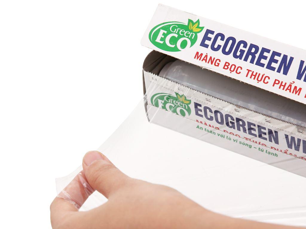 Màng bọc thực phẩm PE Green Eco 30cm x 50m 2