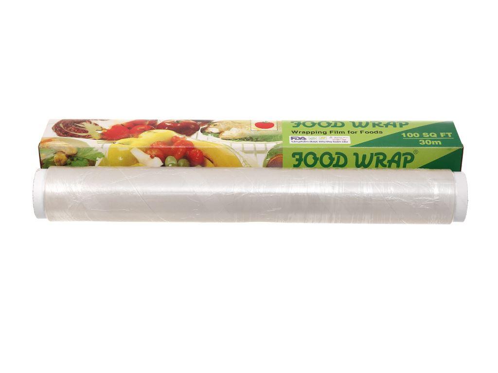 Màng bọc thực phẩm Moriitalia trắng 30cm x 30m 1