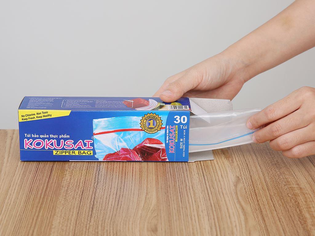 Túi zipper bảo quản thực phẩm Kokusai 18 x 21cm (30 túi) 3
