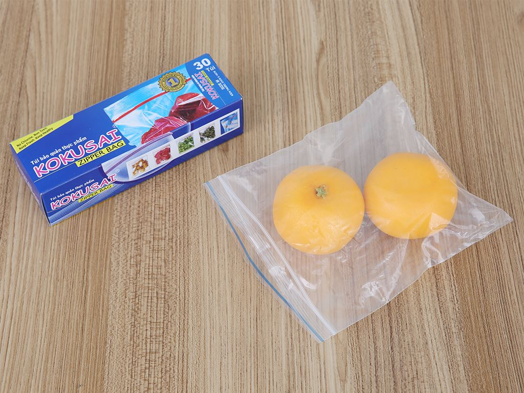 Túi zipper bảo quản thực phẩm Kokusai 18 x 21cm (30 túi) 4